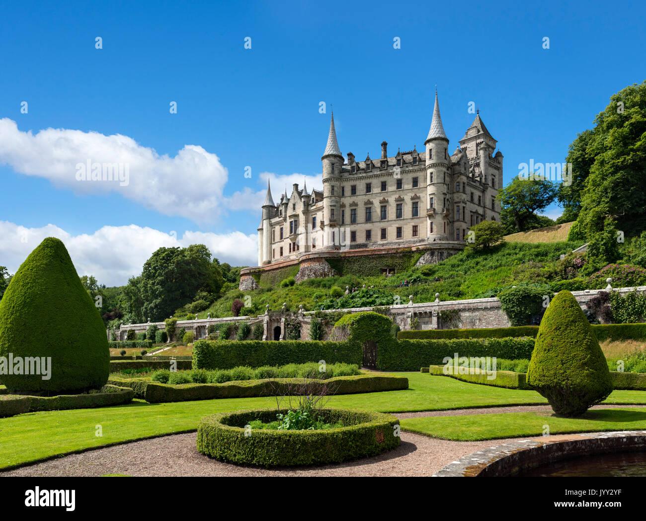 Dunrobin Castle, Sutherland, Scottish Highlands, Scotland, UK - Stock Image