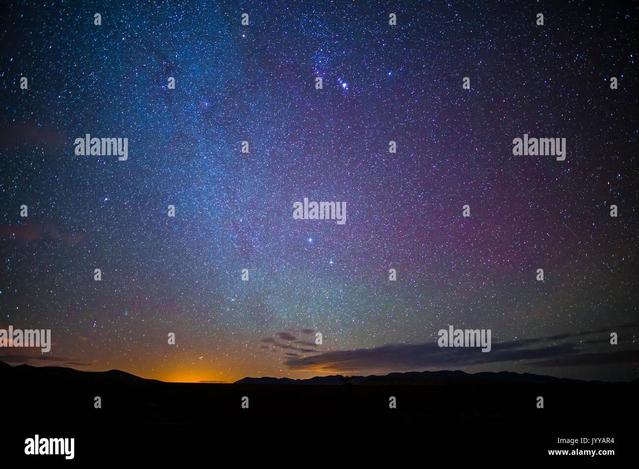Stars In The Night Sky - Stock Image