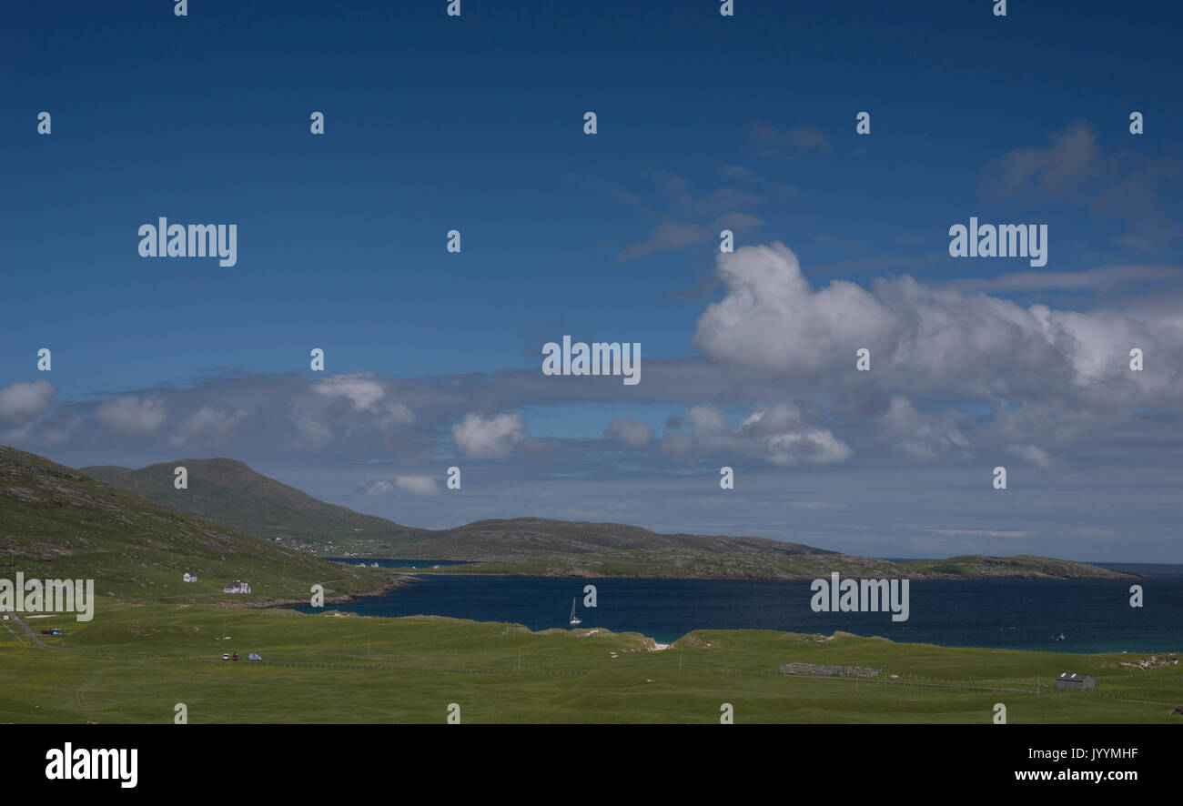 Vatersay Island Outer Hebrides - Stock Image