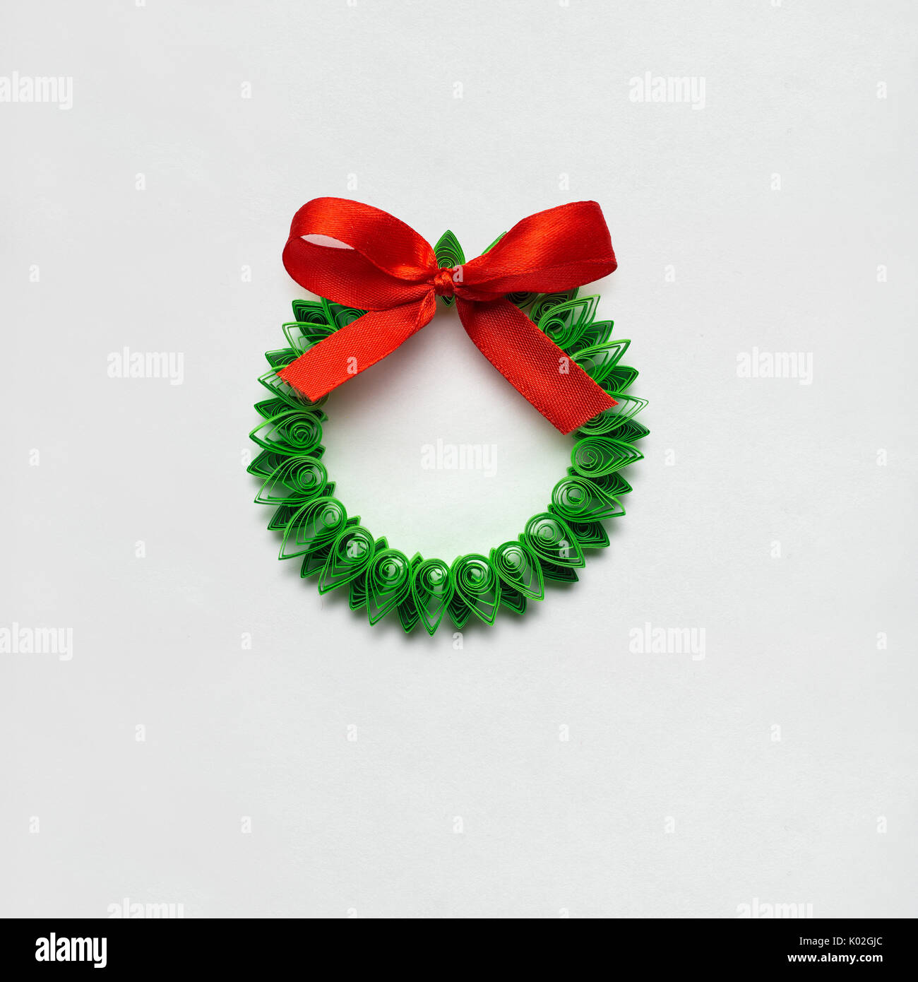 Paper Quilling Christmas Card Stock Photos & Paper Quilling ...
