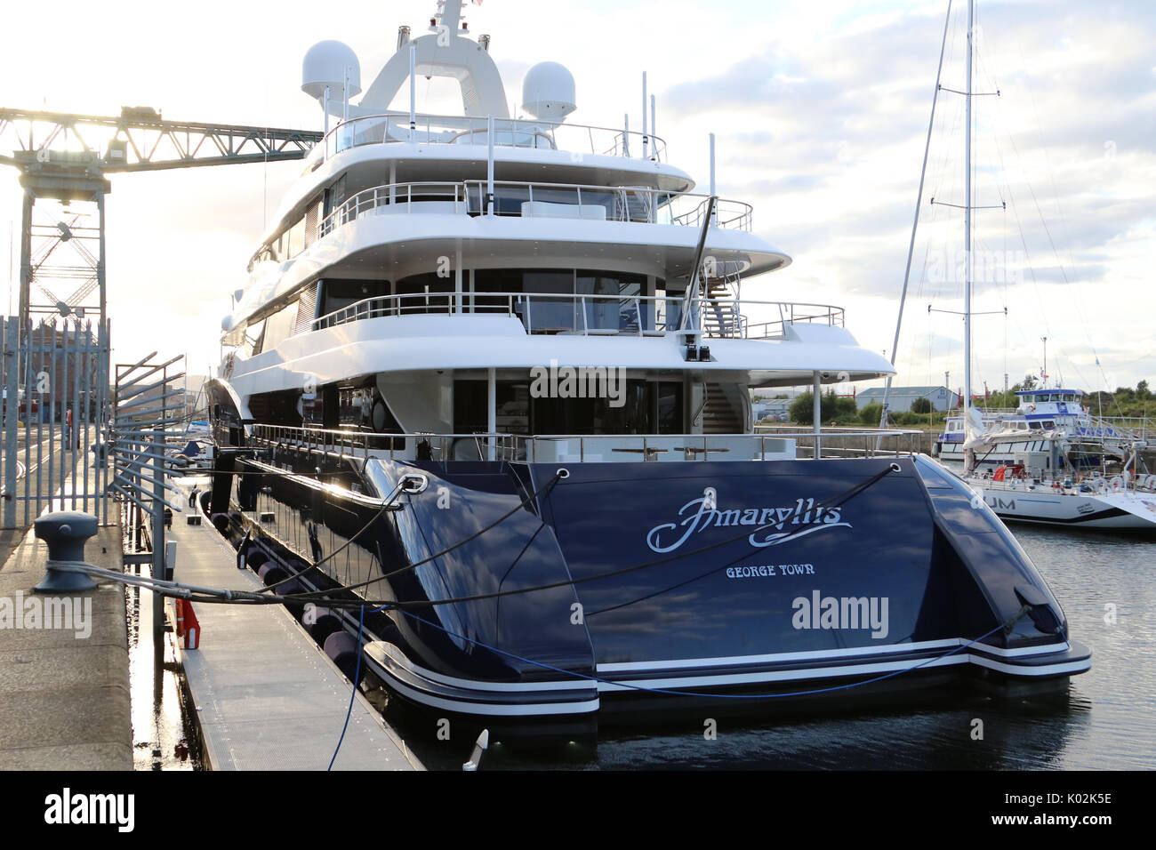 Super Yacht Amaryllis Owner Stock Photos Super Yacht Amaryllis