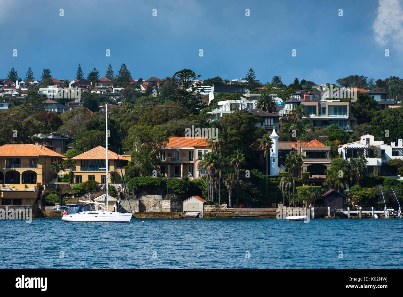 Watson's bay, Sydney, Australia. - Stock Image