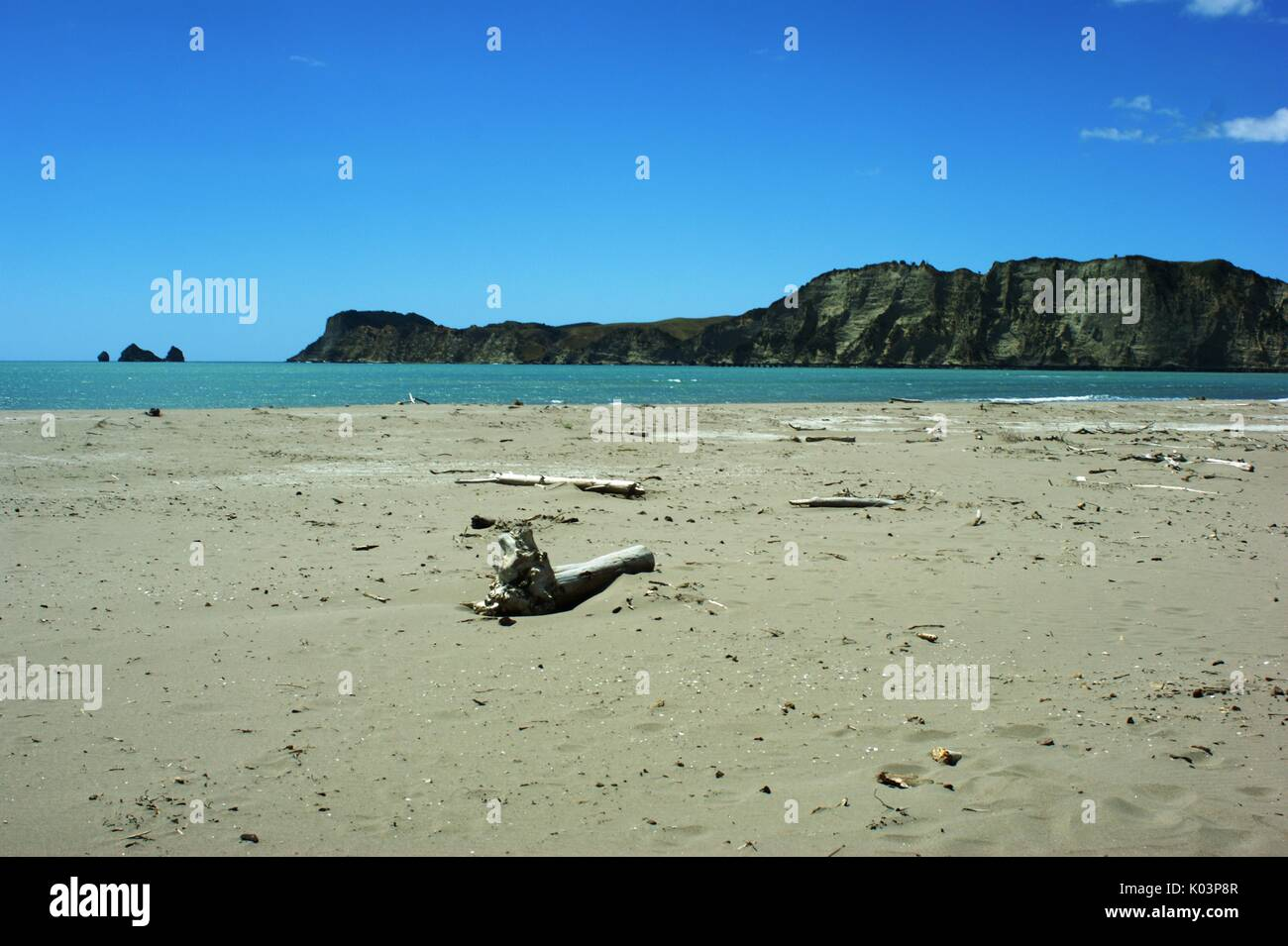 Tolaga Bay New Zealand - Stock Image