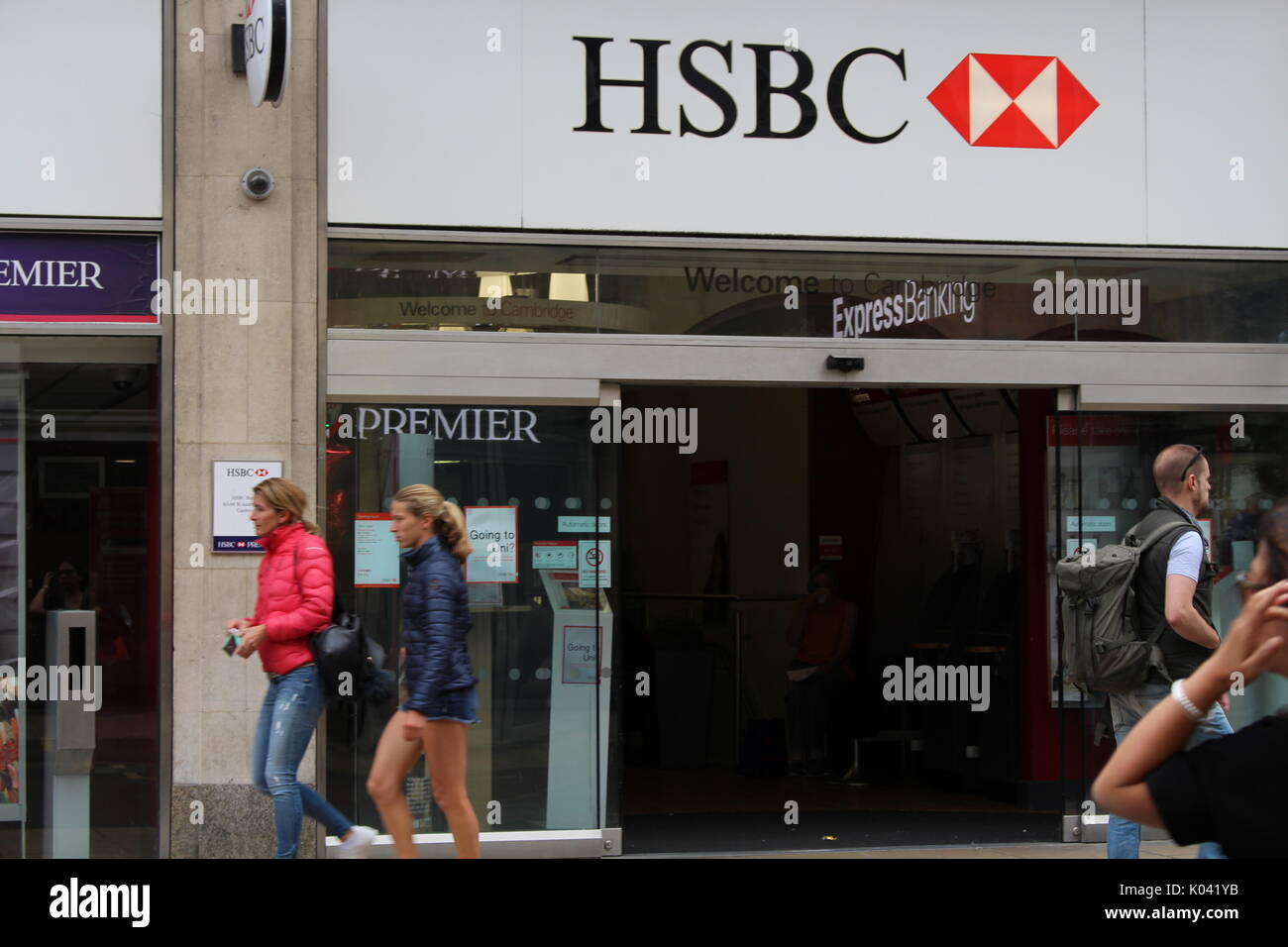 HSBC bank in cambridge Stock Photo: 154982671 - Alamy