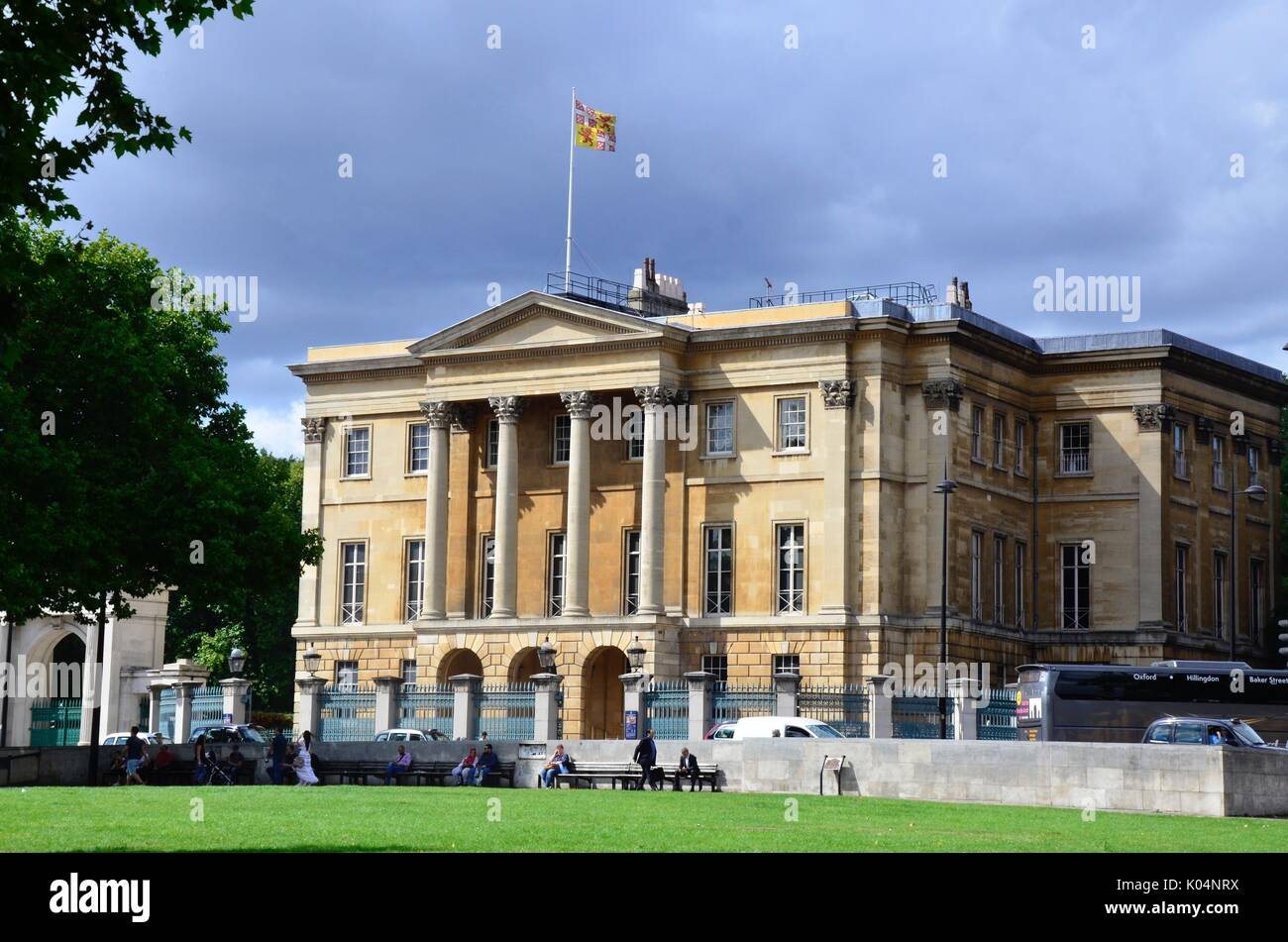 Apsley House, Hyde Park Corner, London, England - Stock Image