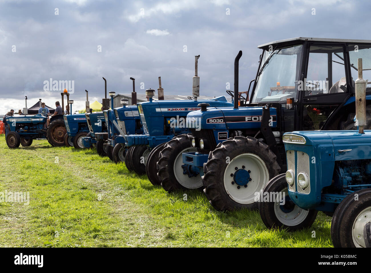 Ford Tractor Company : Blue ford tractor stock photos