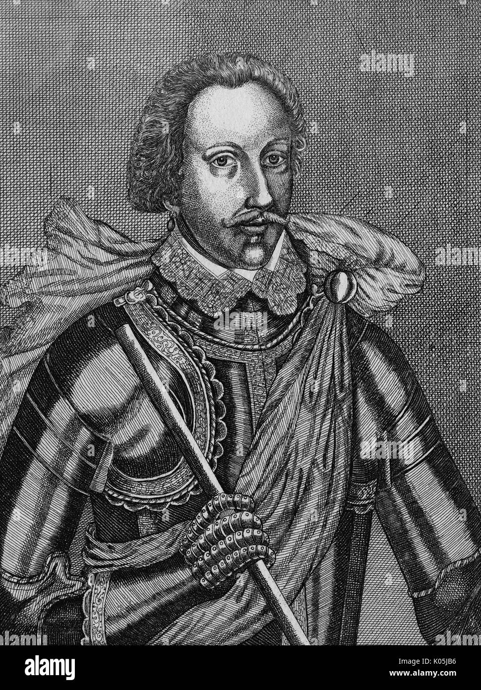 Sir Philip Sidney (1554 - 1586) - writer, soldier, courtier        Date: - Stock Image