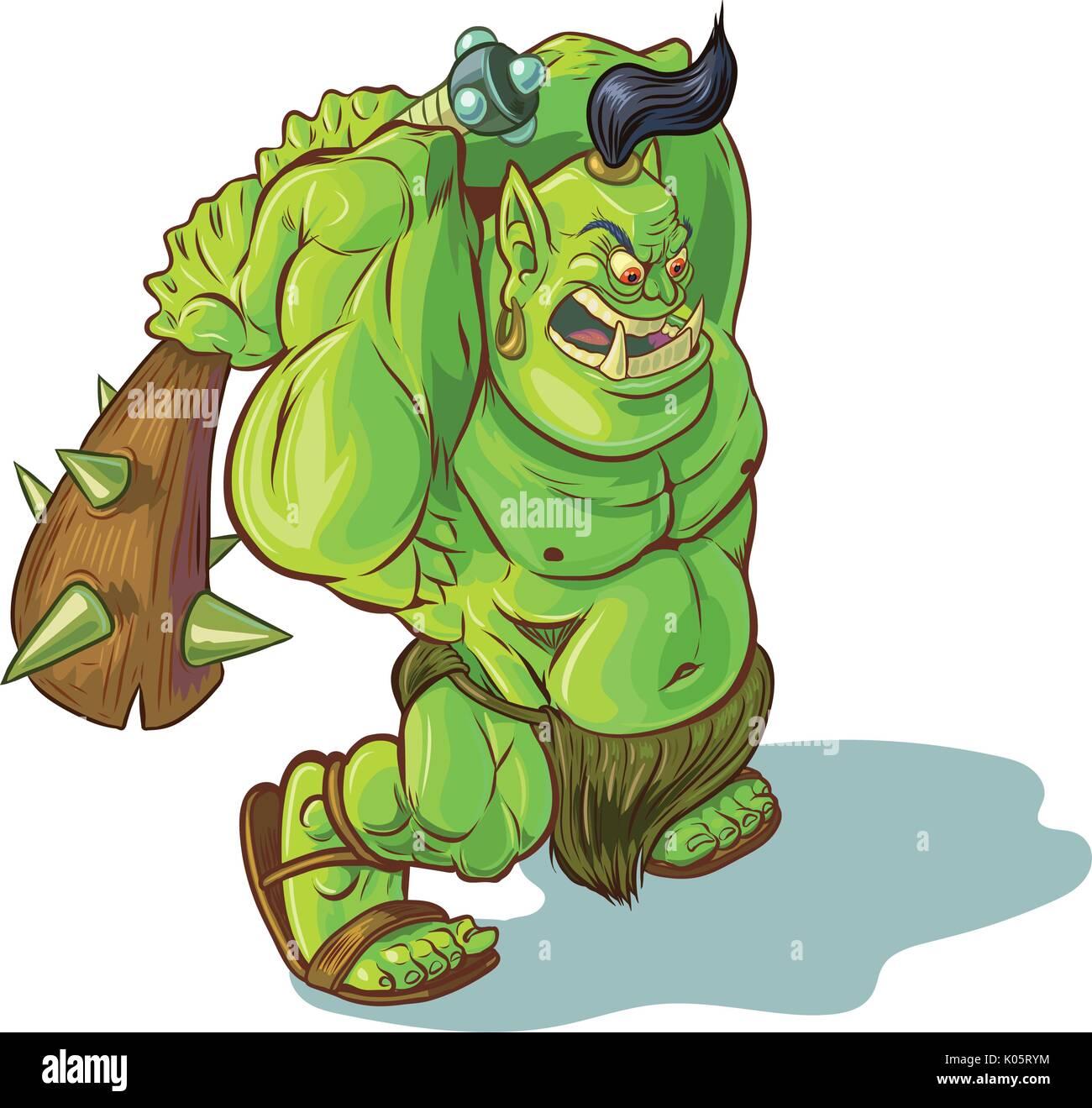 Trolls orcs ogres goblins and gremlins monster girls
