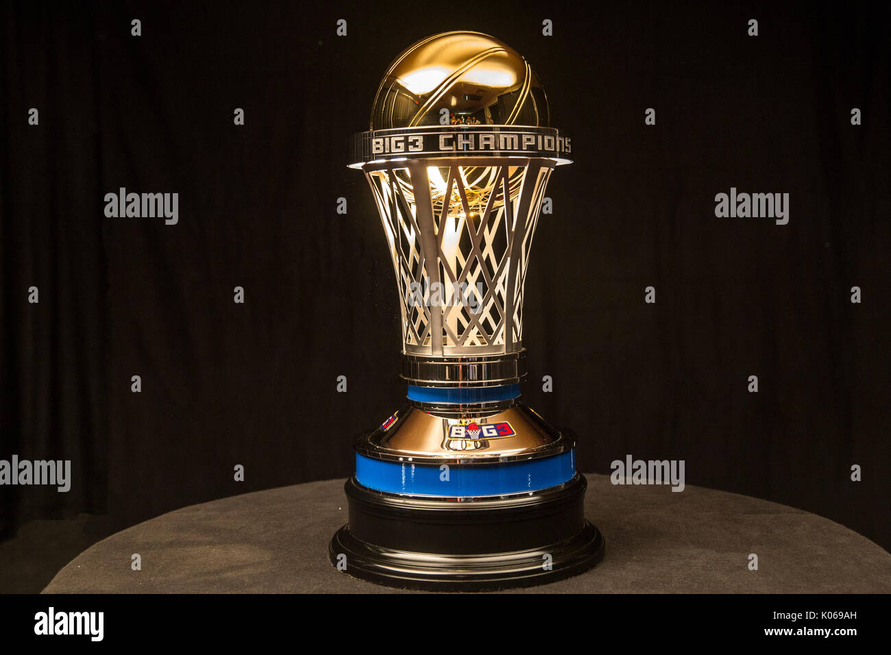 A View 24 Karat Gold 2017 BIG3 Championship Trophycrafted By S R BLACKINTONmakers Kentucky Derby Trophy For Over 40 Consecutive Yearsrevealed First