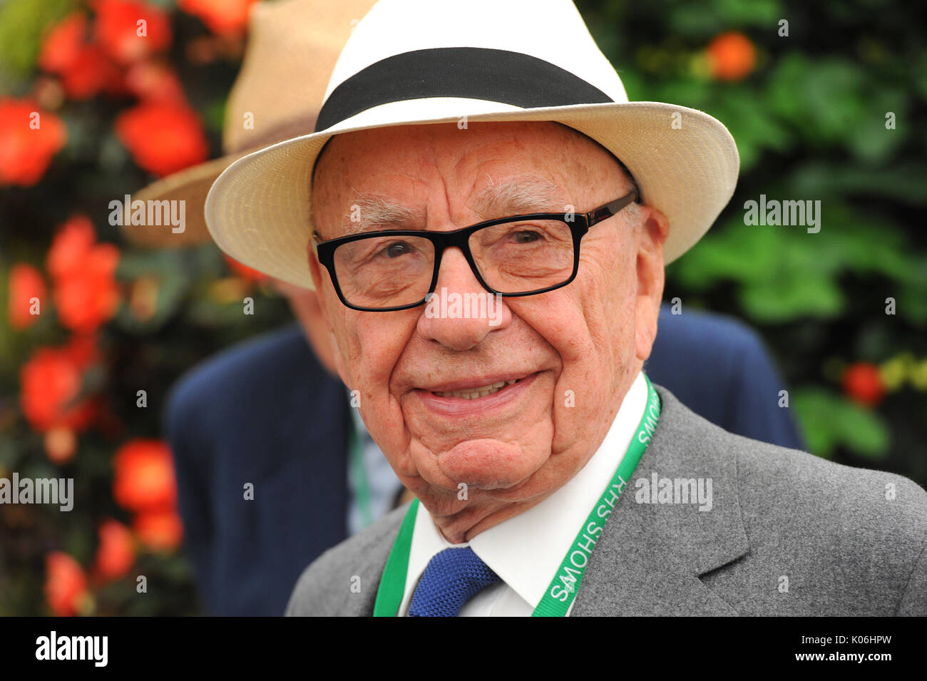 Rupert Murdoch the Australian-born American media mogul whose family own 21st Century Fox and News Corp. - Stock Image