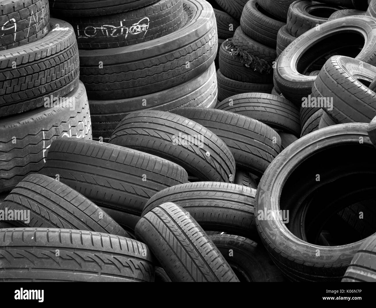 Used Tyre Stock Photos Used Tyre Stock Images Alamy