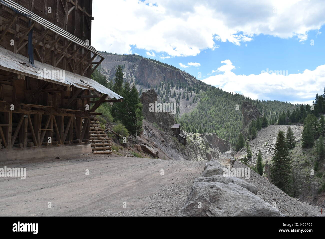 The Rio Grande, Creede, ColoradoStock Photo