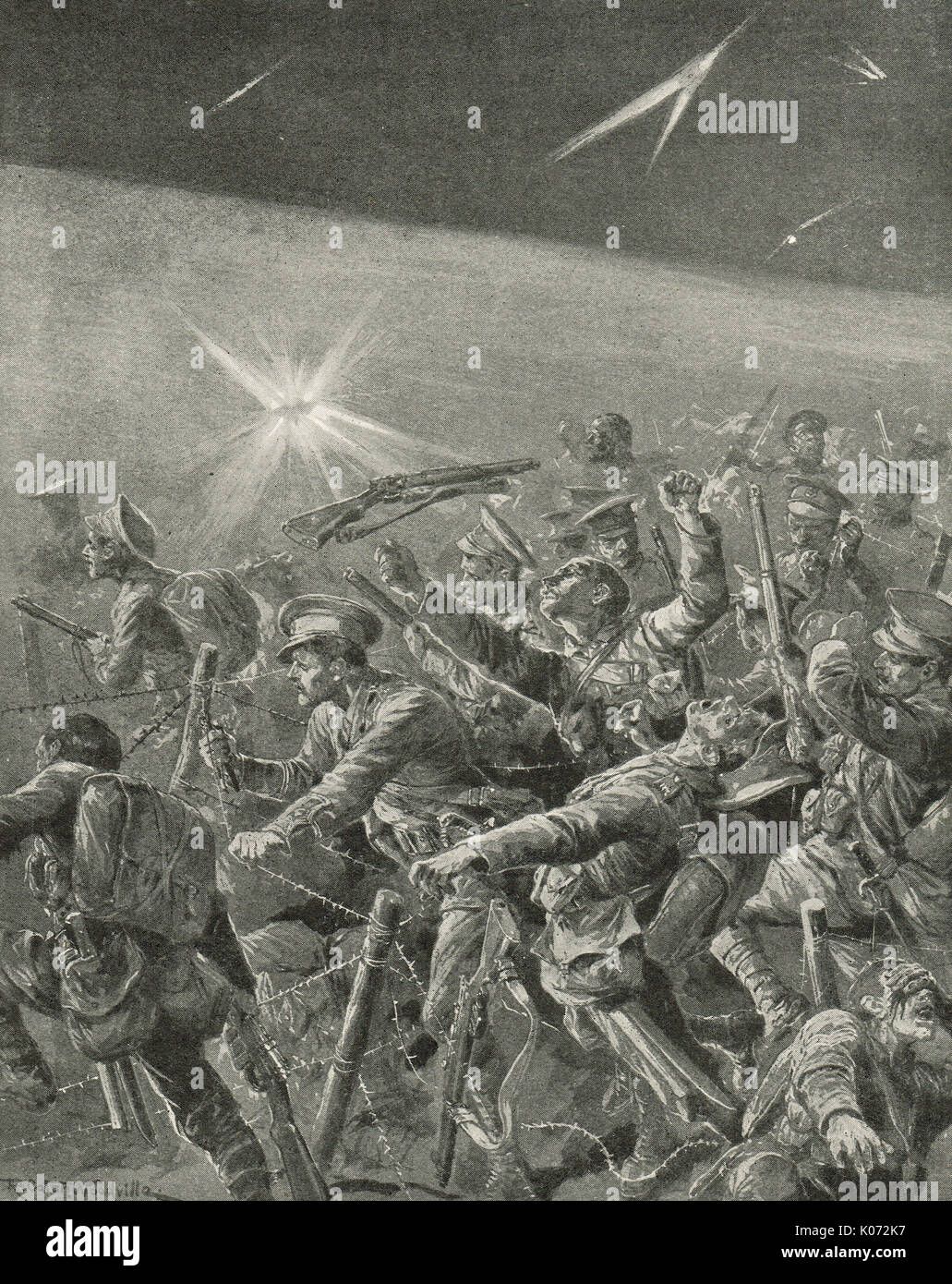 World War 1 Barbed Wire Stock Photos & World War 1 Barbed Wire Stock ...