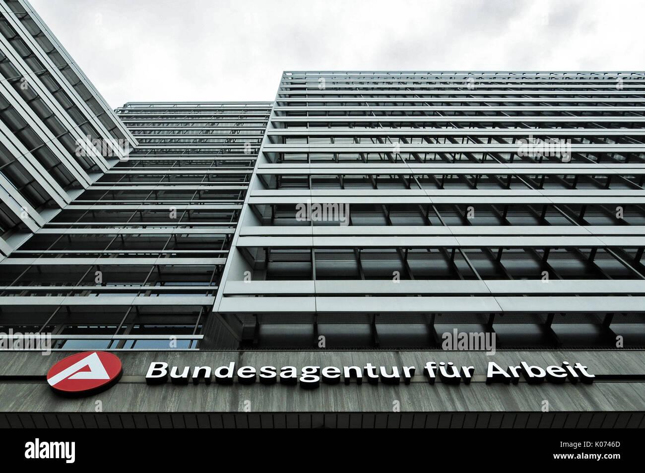 Bundesagentur für Arbeit, Nürnberg - Stock Image
