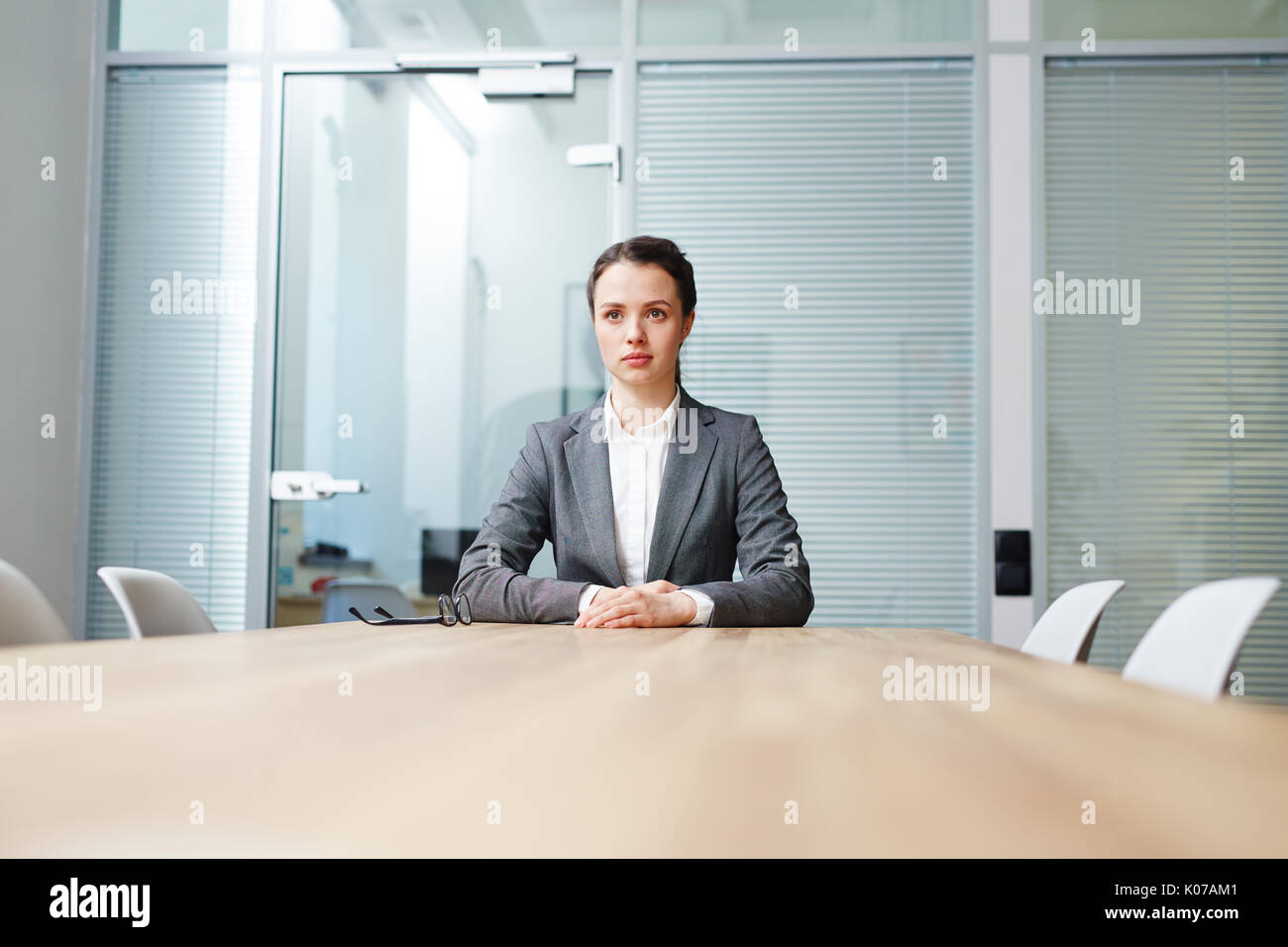Waiting for interview - Stock Image