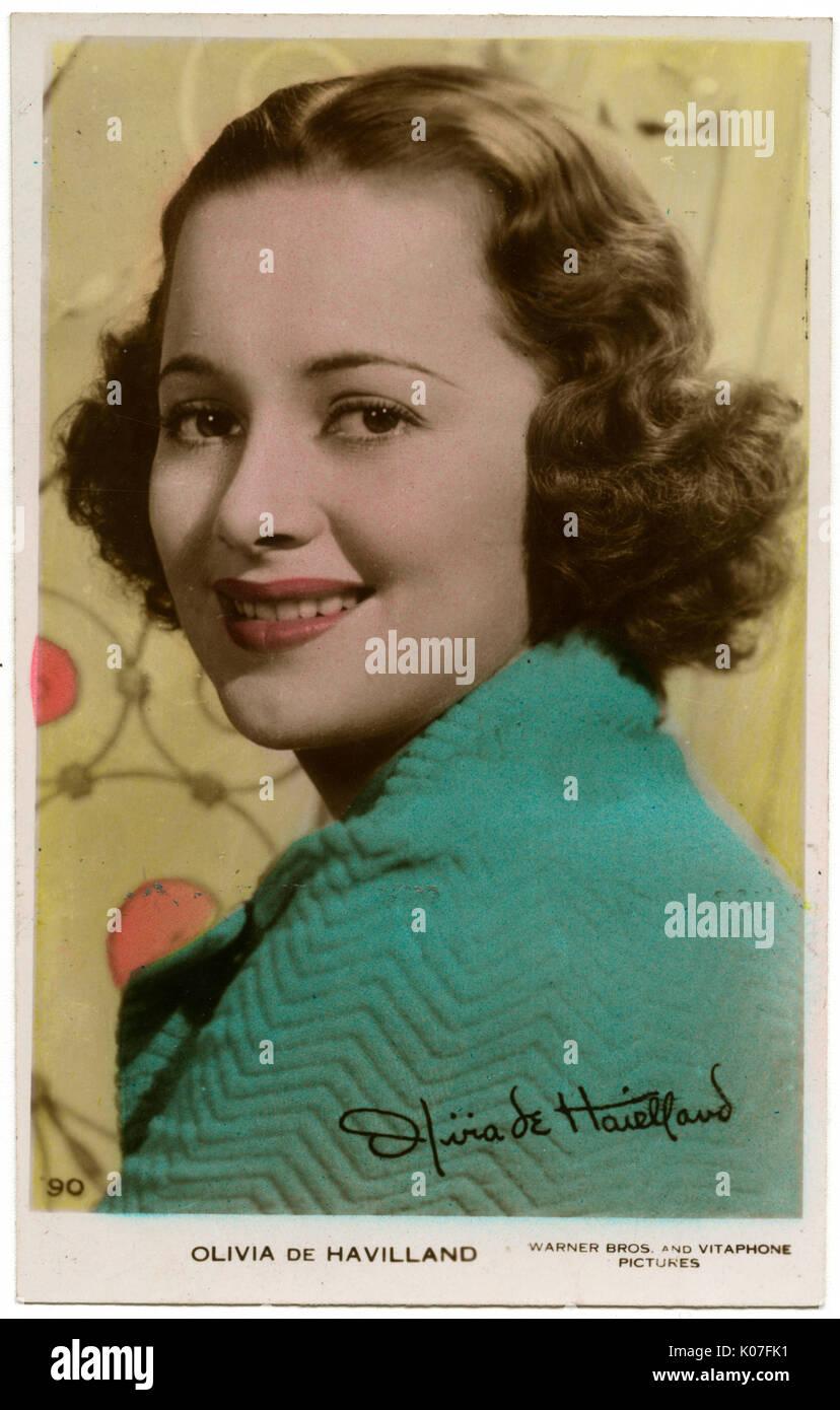 photo Olivia de Havilland (born 1916 (naturalized American citizen