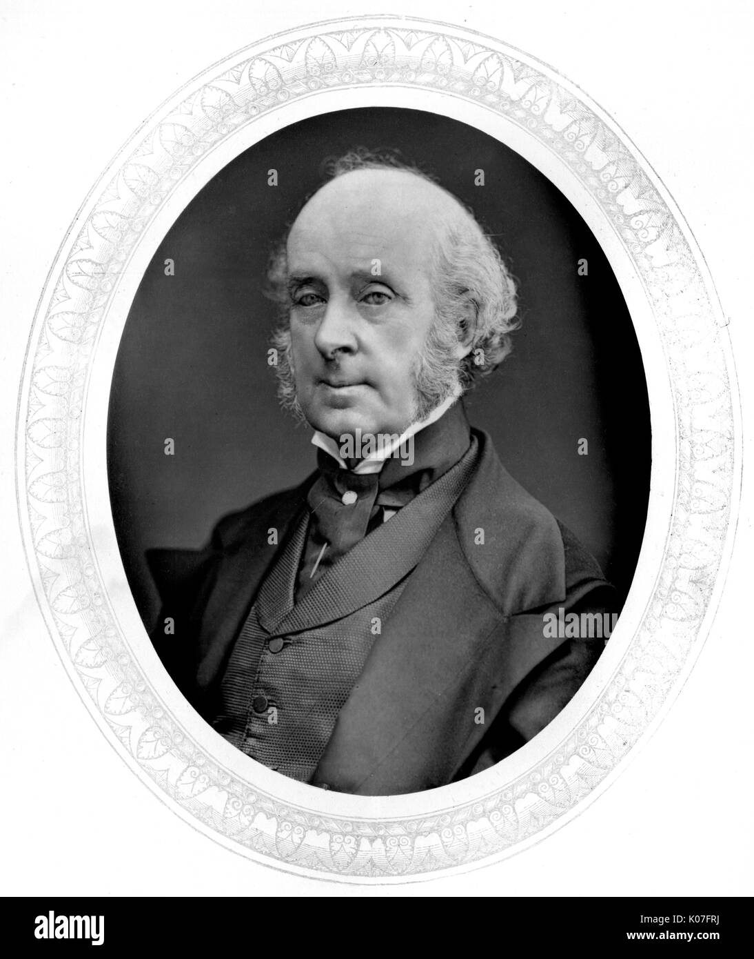 James Malbot (1805 - 1883), Lord Talbot of  Malahide Archeologist : photo 1876       Date: - Stock Image
