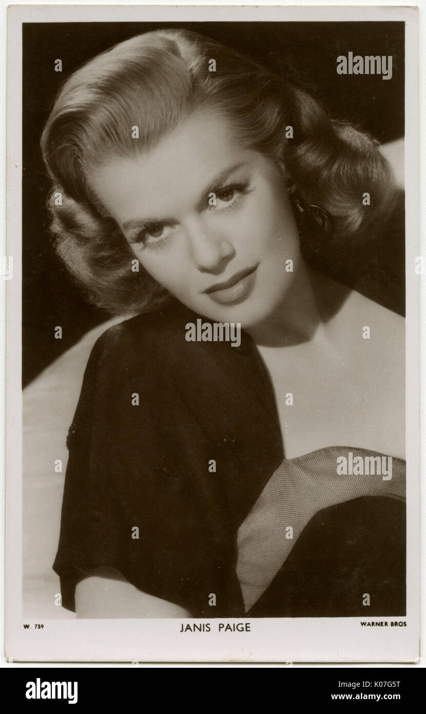 437802b3b6930 Janis Paige (Donna Mae Jaden) American actress with operatic training Date   1922 -