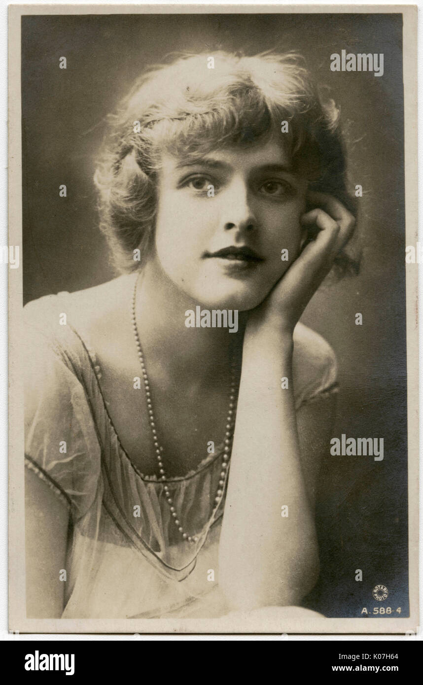 Miss Patience Worth, actress        Date: circa 1905 Stock Photo