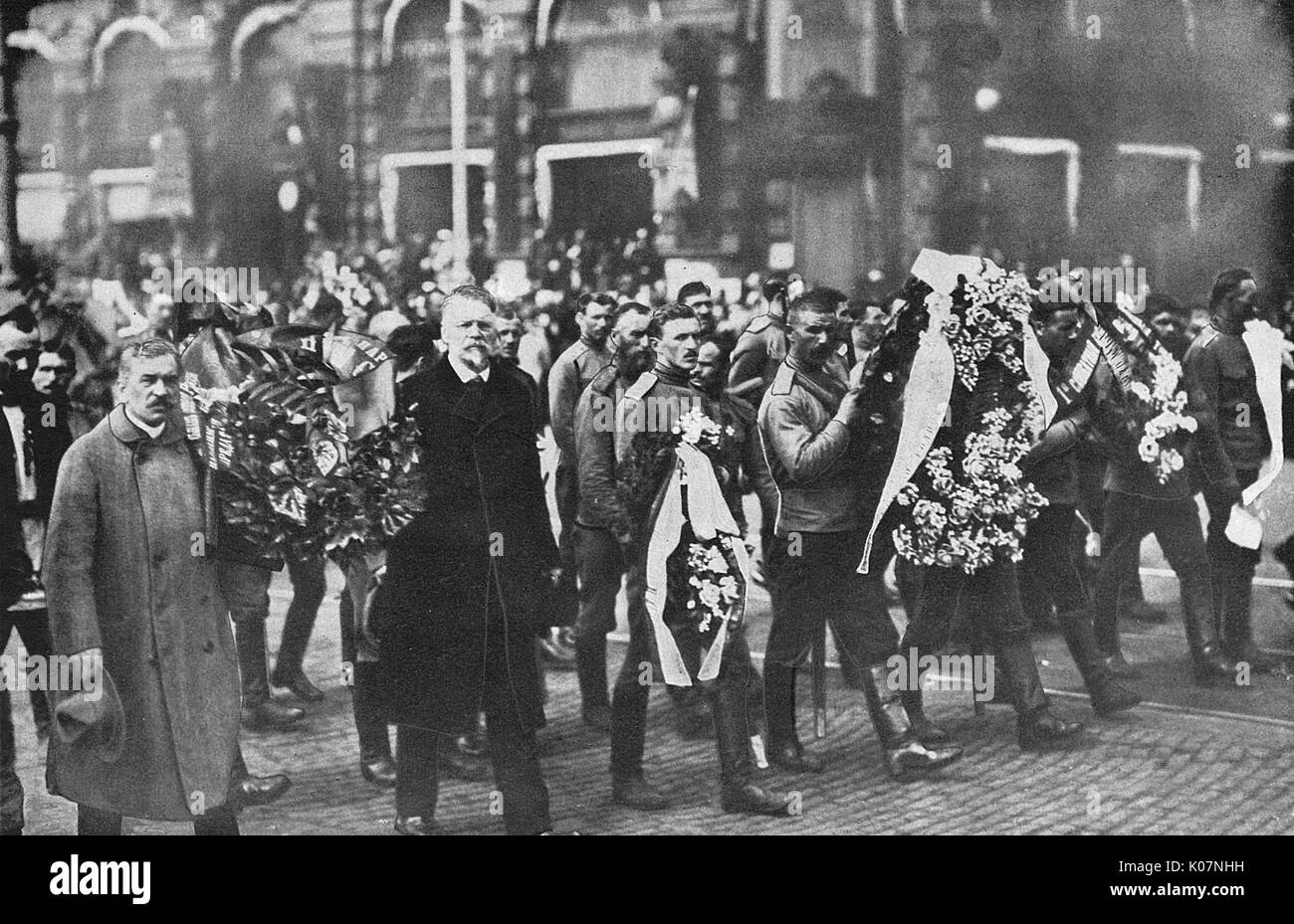 100 years ago. Public execution in Petrovsky Park 42