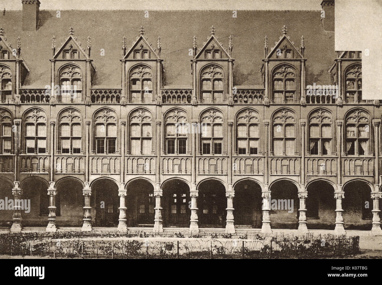 Palais des Princes Eveques (Palace of the Prince-Bishops), Liege, Belgium, dating back to the 16th century.     - Stock Image