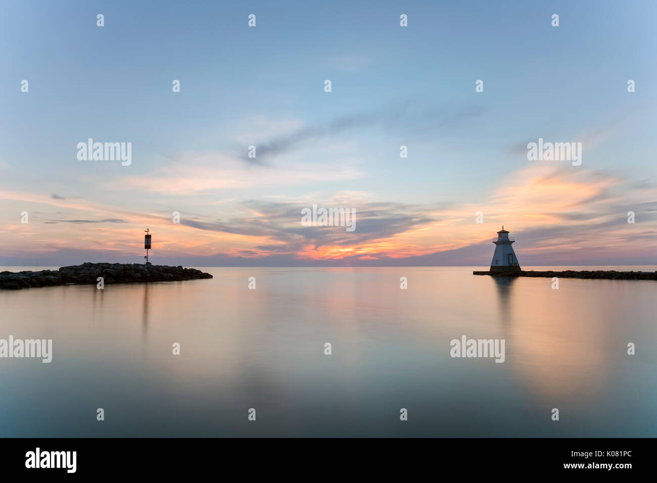 Southampton, Bruce County, Ontario, Canada Stock Photo