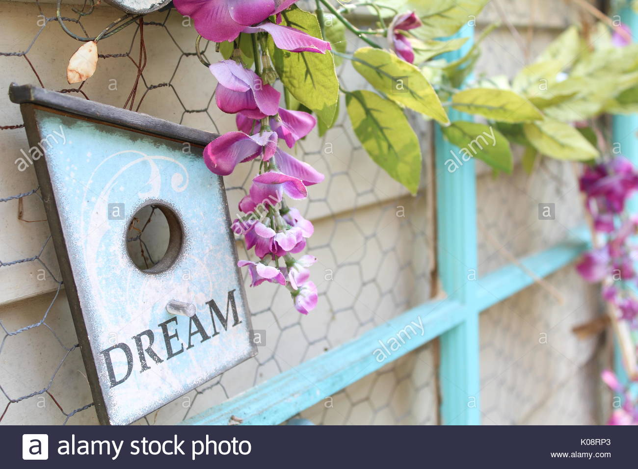 Dream Vintage Window - Stock Image