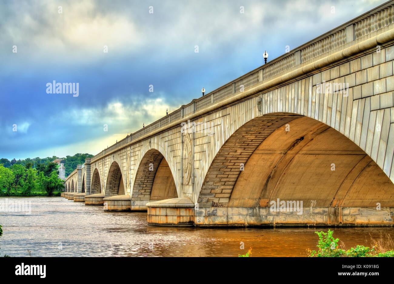 Arlington Memorial Bridge Stock Photos & Arlington Memorial Bridge ...