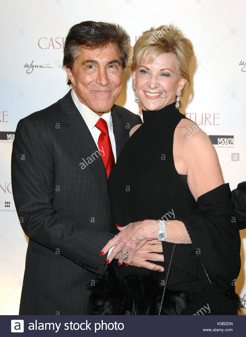 Steve Wynn And Elaine Wynn At Casino Couture: An Evening