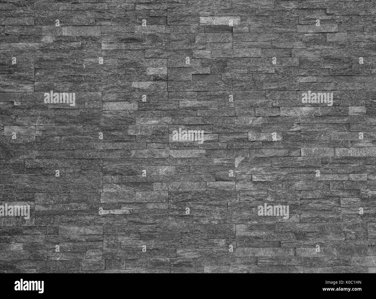 Black and white texture background - Stock Image