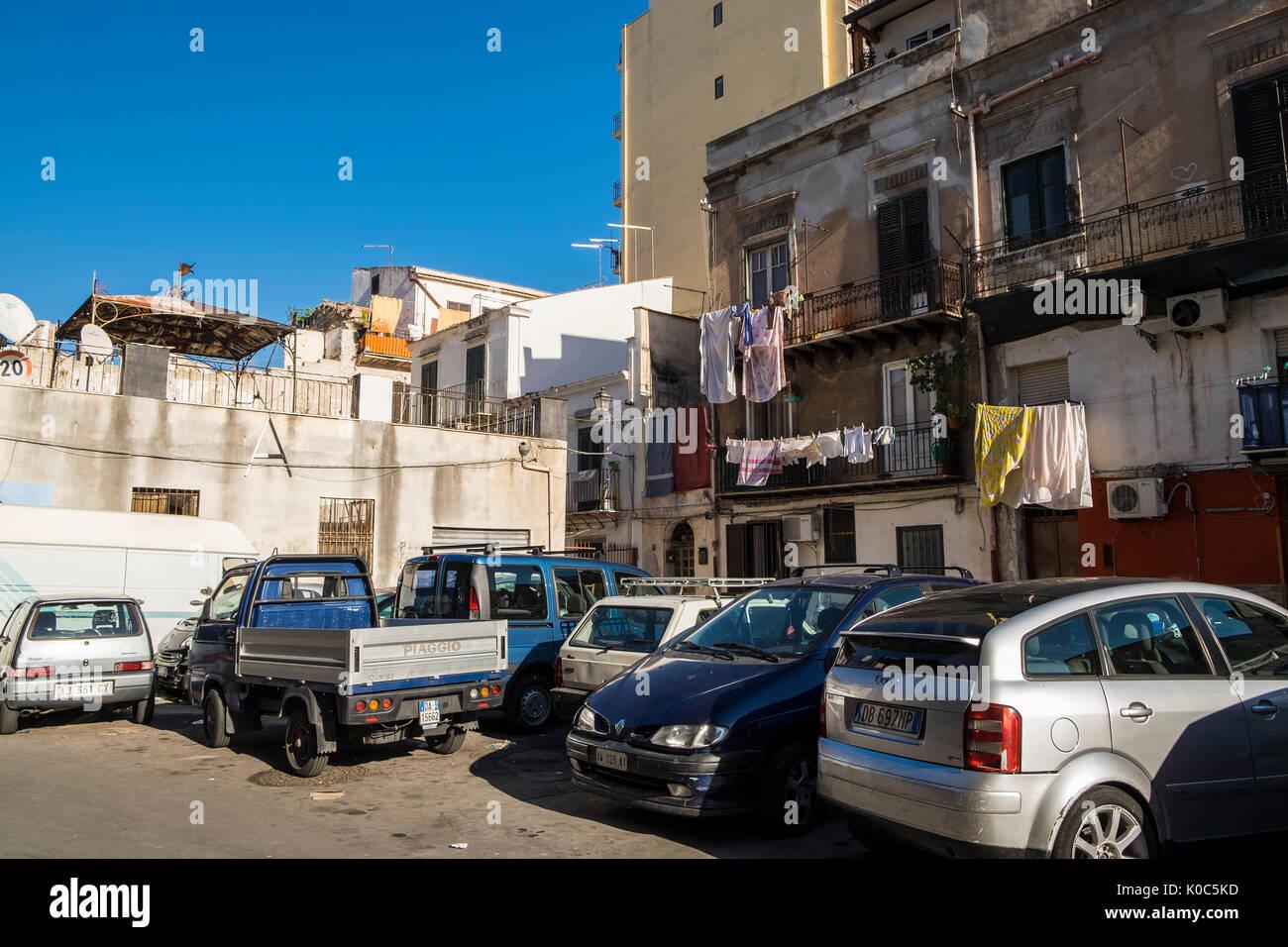 Italy, Sicily, Palermo, Ballarò - Stock Image