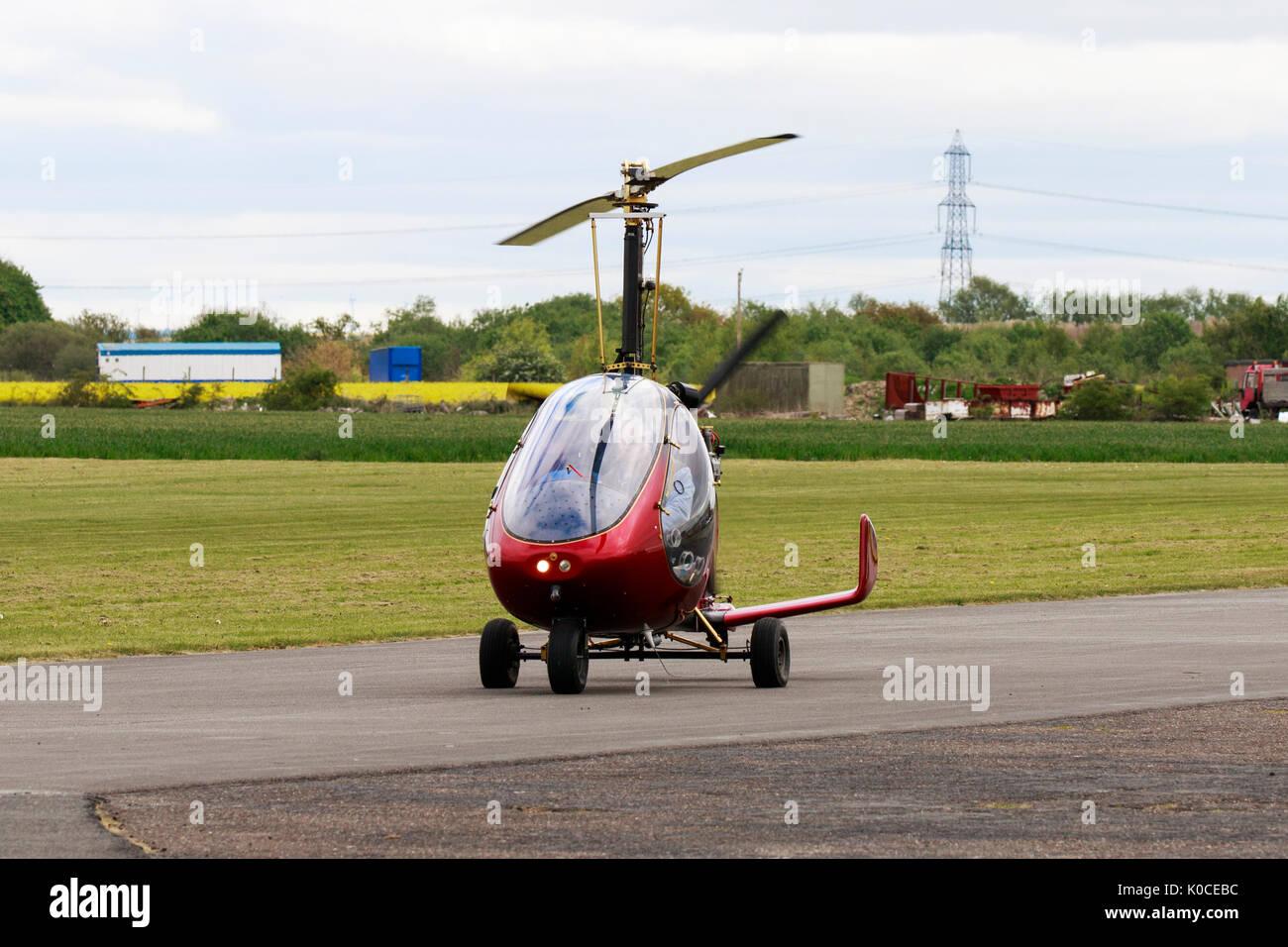 RAF 2000 GTX-SE Gyroplane G-BXKM - Stock Image