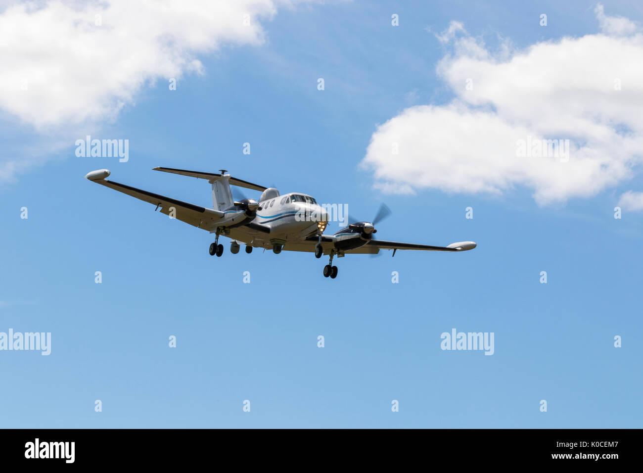 Beech B200T Super King Air N45N - Stock Image