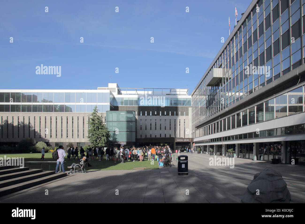 imperial college of science and technology south kensington london - Stock Image