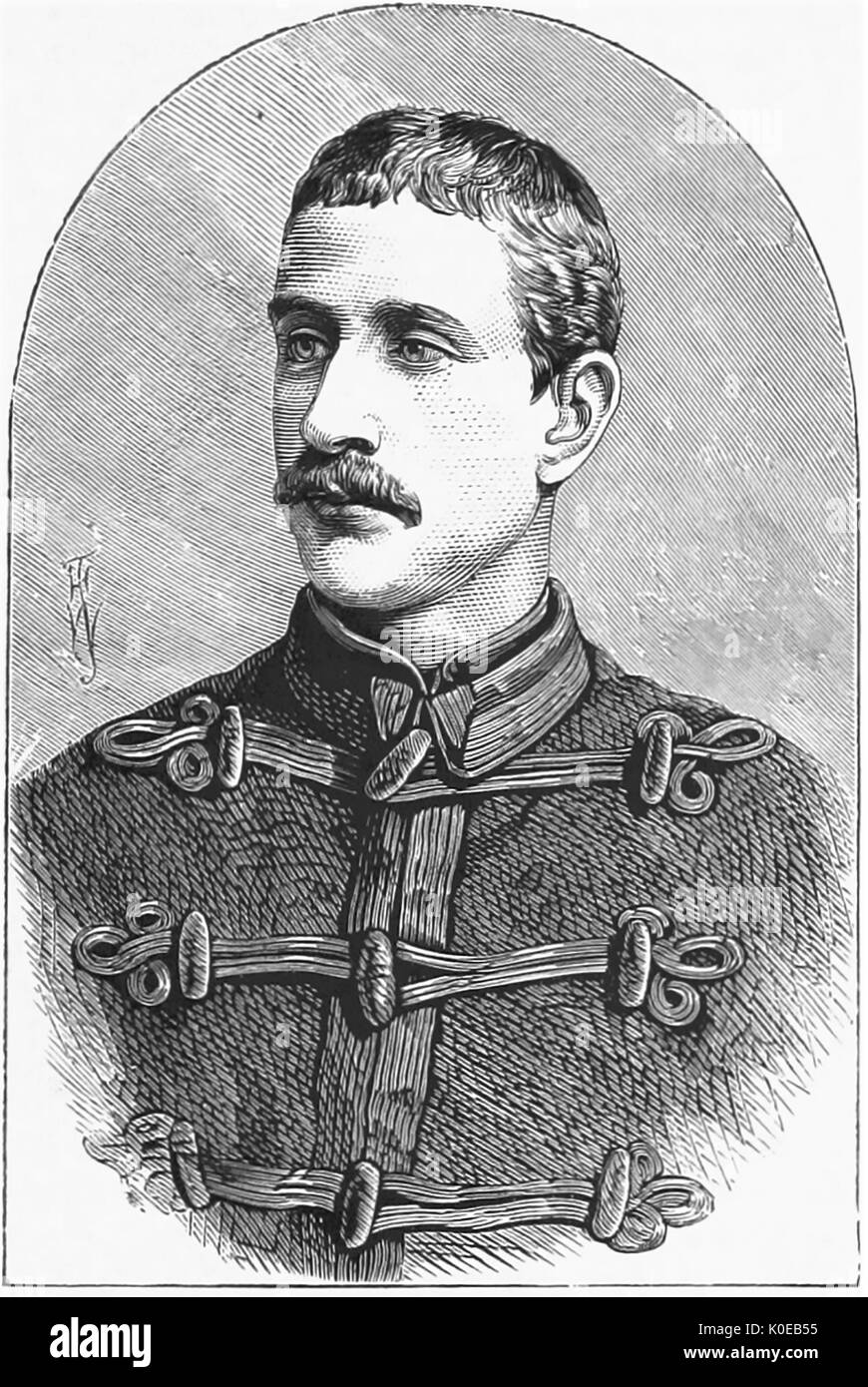 NAPOLEON, PRINCE IMPERIAL (1856-1879) son of Napoleon III killed in the Anglo-Zulu War of 1879. Stock Photo