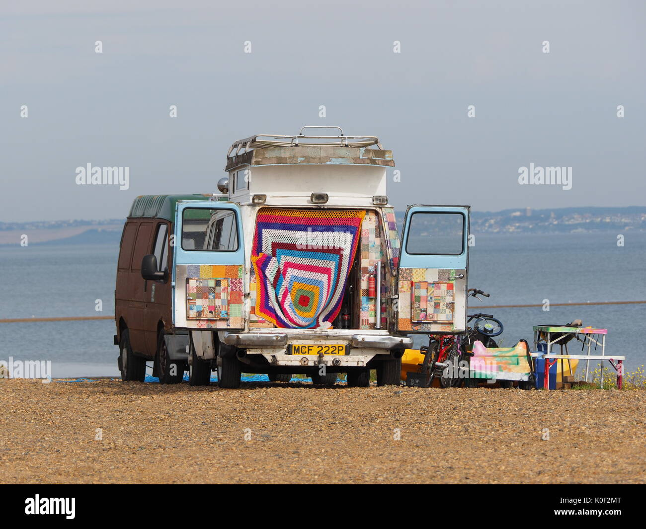 Sheerness, Kent. 23 Aug, 2017. UK Weather: a sunny and warm morning with temperatures of 23 deg c at 10am. Credit: James Bell/Alamy Live News - Stock Image