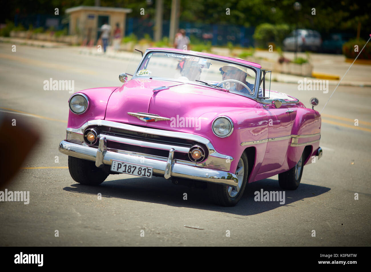 Pink Convertible High Resolution Stock Photography And Images Alamy