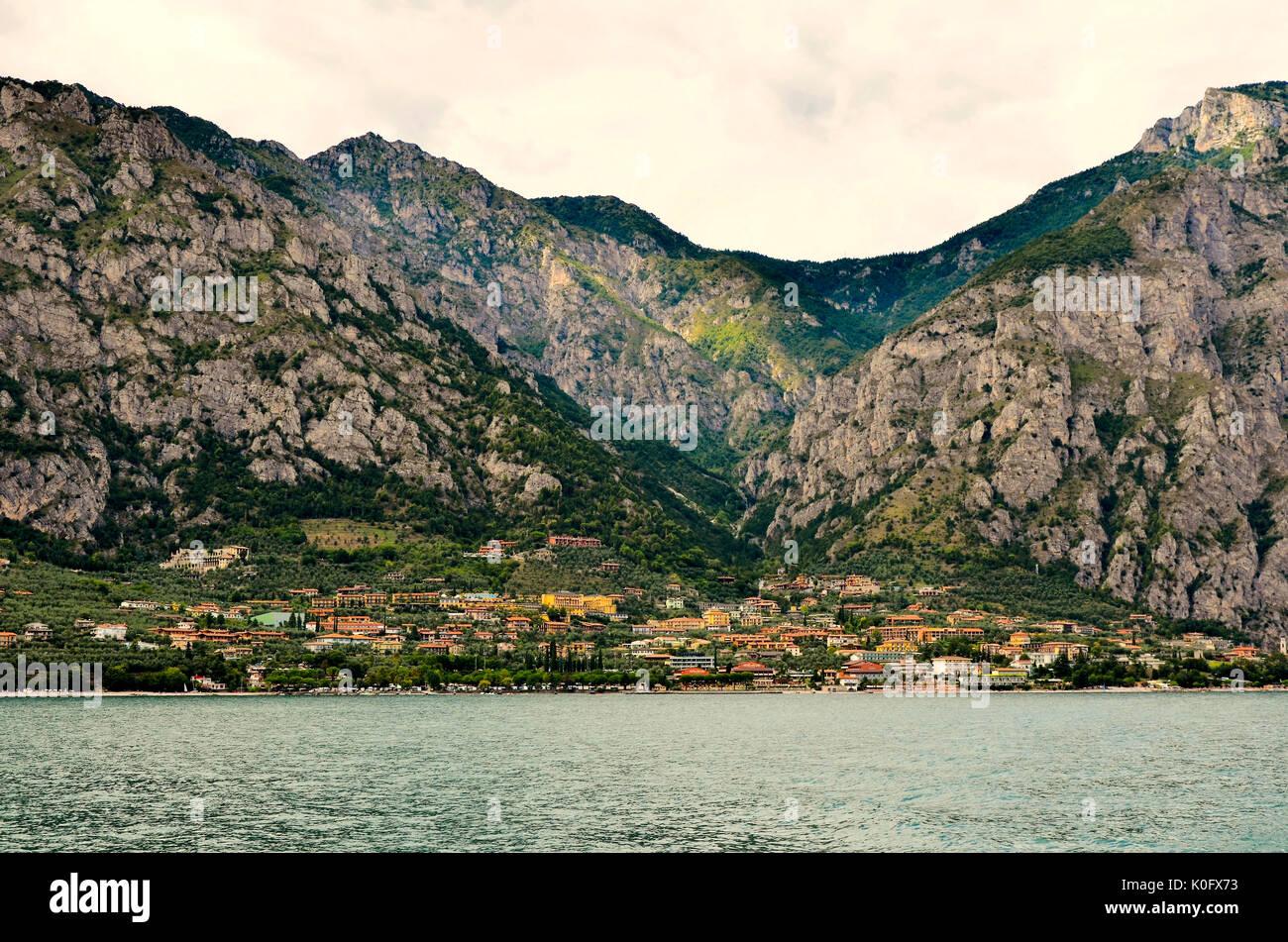 lake garda - Stock Image