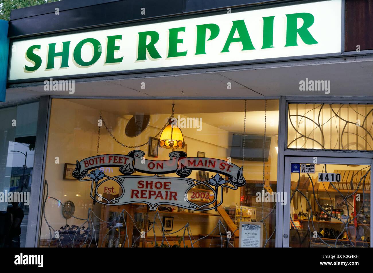 Shoe Repair Vancouver