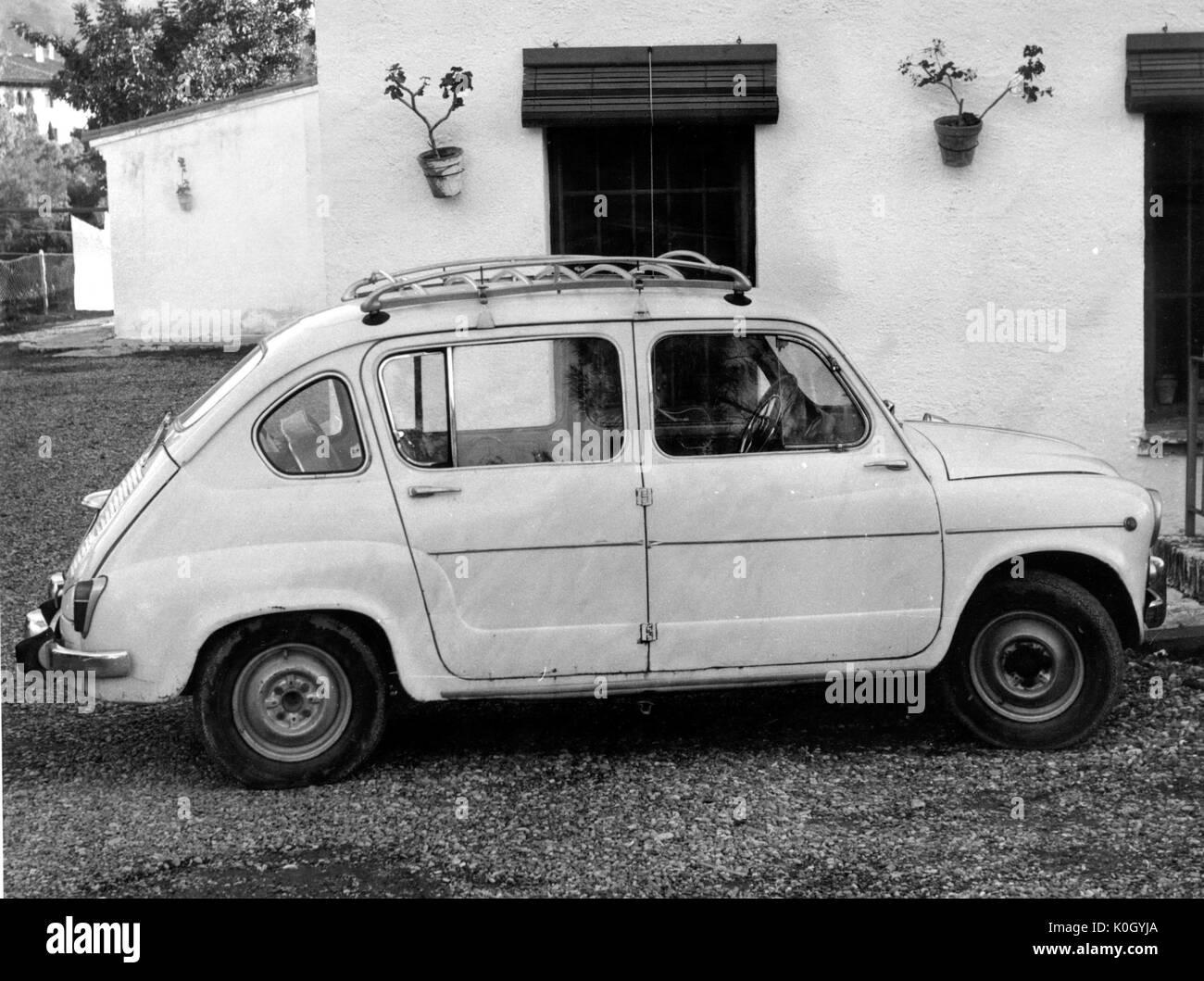 1960 SEAT 600 - Stock Image