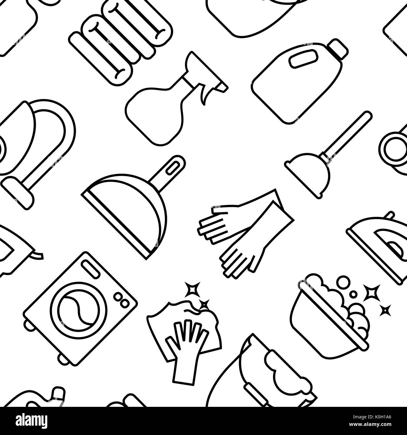 shovel black and white stock photos images alamy Shoveling Dirt cleaning wash line icons washing machine sponge mop iron vacuum