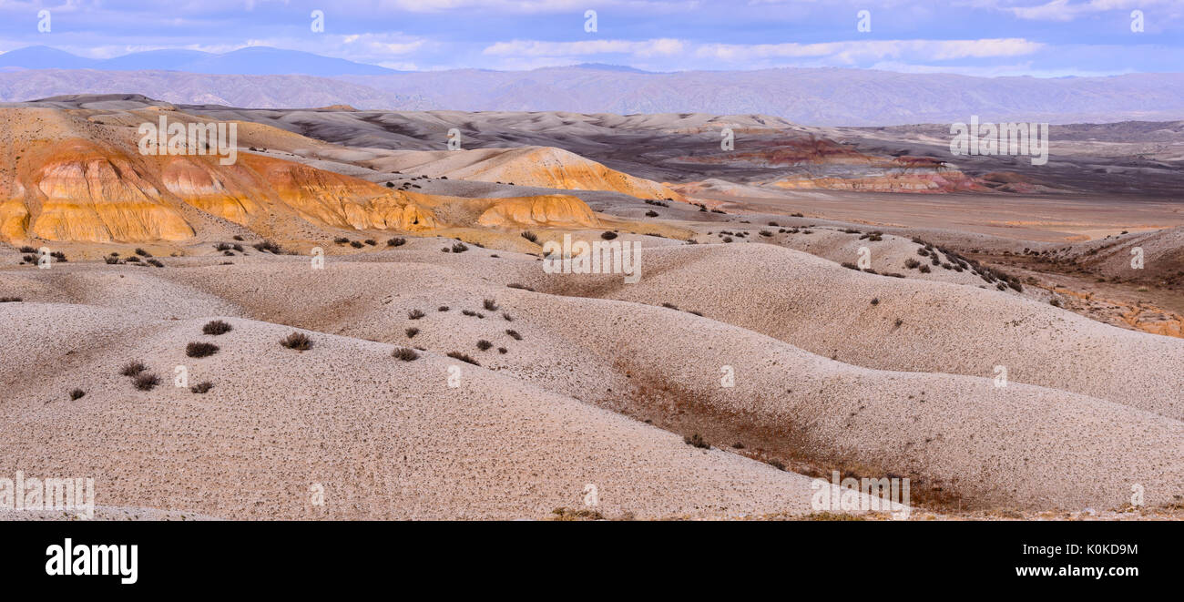 sand deserts - Stock Image