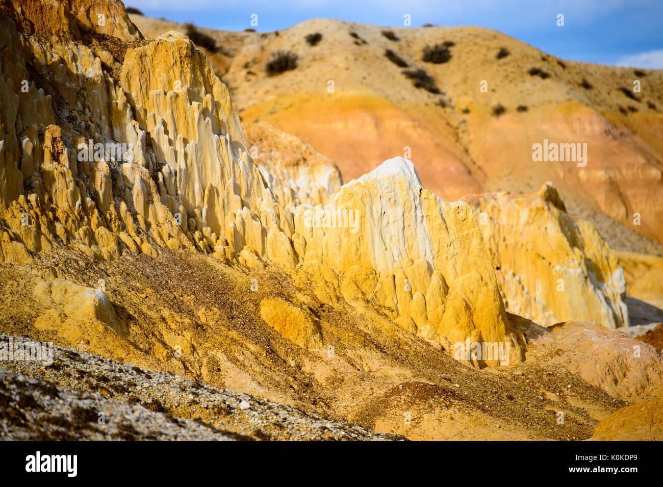 deserts landforms - Stock Image