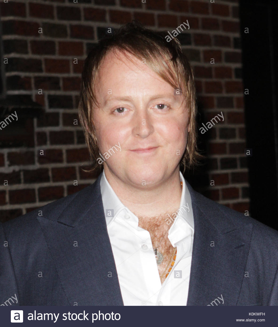 James McCartney Son Of Sir Paul Visits The Late Show With David Letterman To Perform His Band NYC