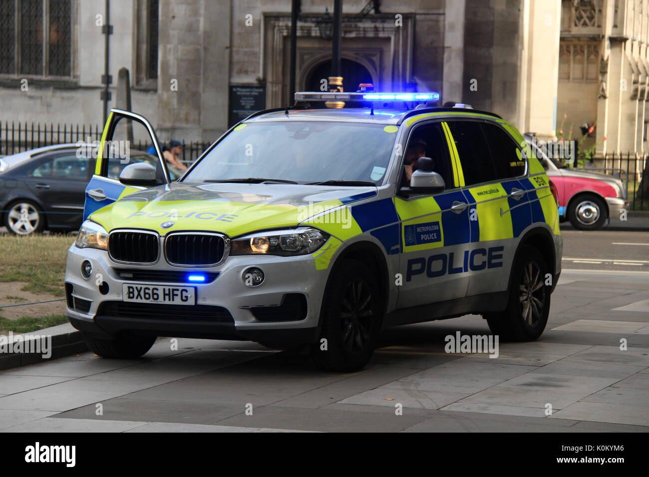 Metropolitan Police BMW X5 - Stock Image