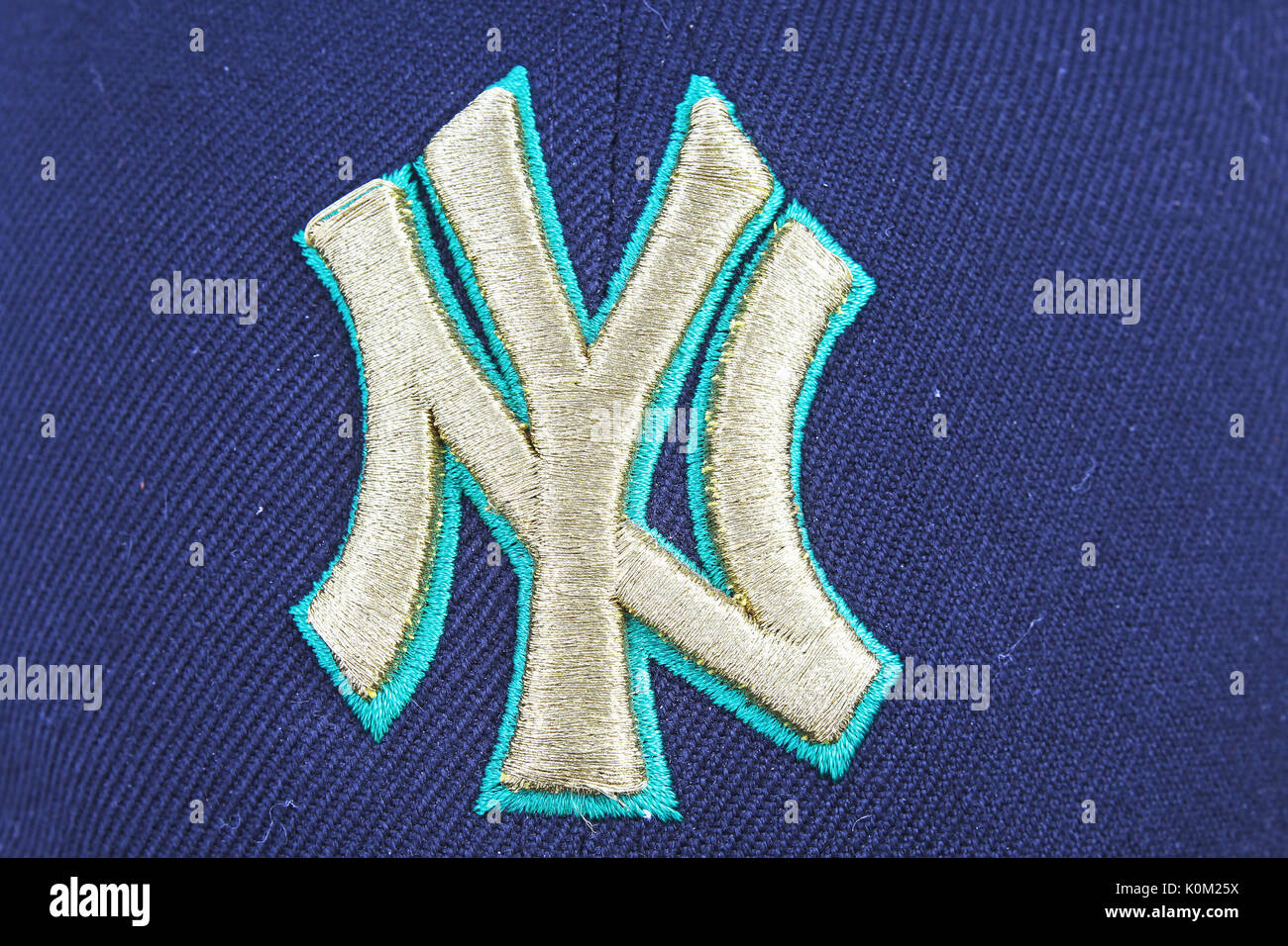 New York Yankees Logo Stock Photos New York Yankees Logo Stock