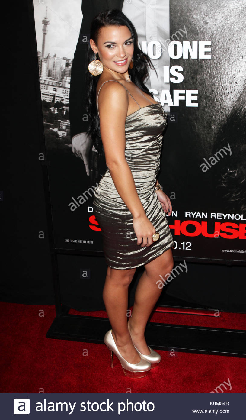 Krista Ayne Celebrity Arrivals At The Safe House Premiere In Nyc