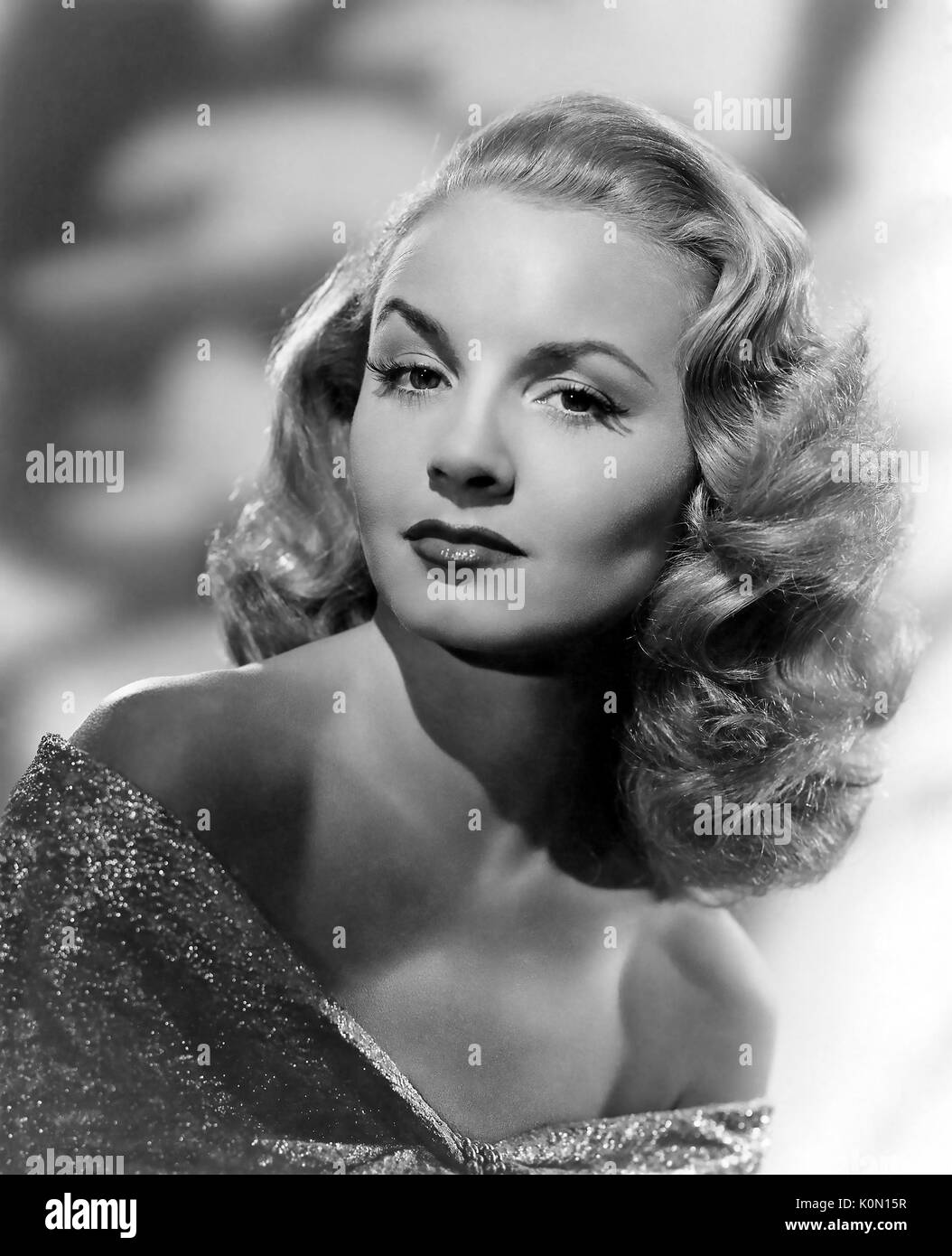 JANET BLAIR (1921-2007) US singer and film actress about 1940 - Stock Image