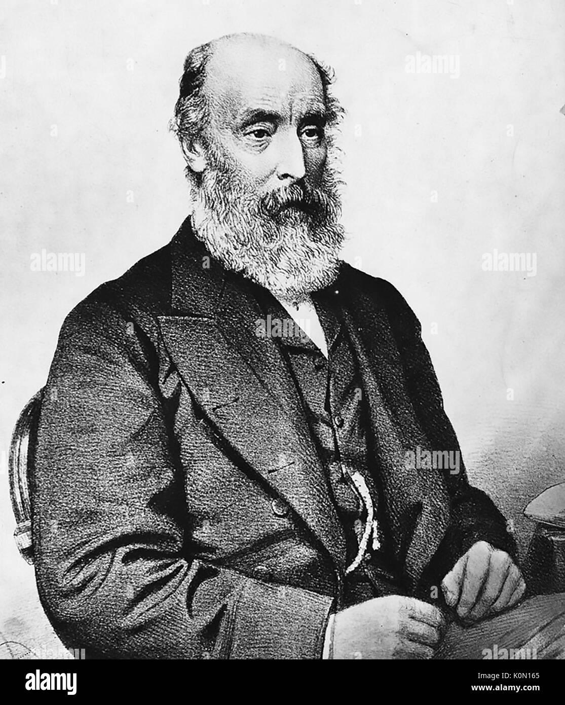 ROBERT RICHARD TORRENS (1814-1884) 3rd Premier of South Australia - Stock Image