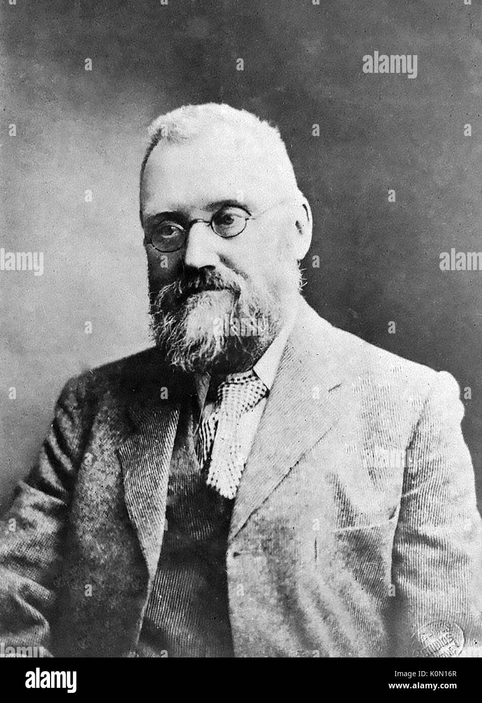 WILLIAM FARRER (1845-1906) Australian agronomist who developed the Federation strain of wheat - Stock Image